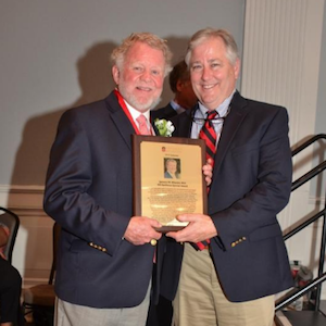 Dr. Wheeler Receives Award from Greater Savannah Athletic Hall of Fame