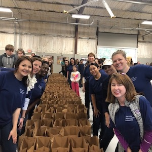 Chatham Orthopaedics Employees Volunteer at America's Second Harvest of Coastal Georgia