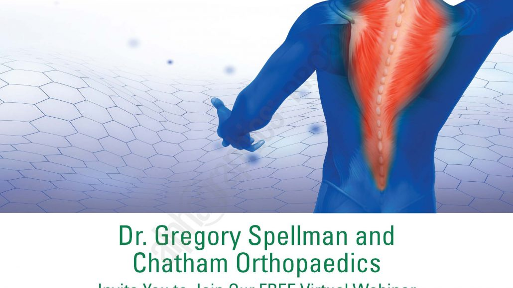 Free Virtual Webinar With Dr. Gregory Spellman