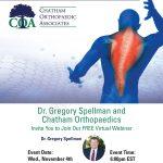 Free Virtual Webinar With Dr. Gregory Spellman