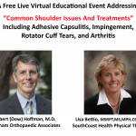 "Free Online Event: ""Common Shoulder Issues and Treatments"""