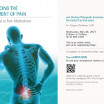 Online Event: Advancing the Treatment of Pain